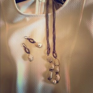Jewelry - Necklace and earring combo